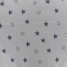 Tissu Oeko-Tex Jersey bio Stardust - taupe x 10cm