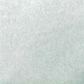 Tissu Bio Polaire Coton - vert x 10cm