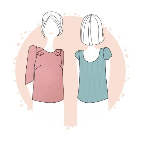 Sewing pattern Anne Kerdilès Blouse - Milan