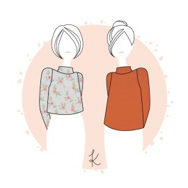 Sewing pattern Anne Kerdilès Jumper - Camden