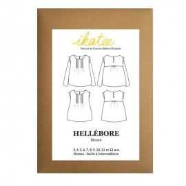 Sewing pattern Ikatee Blouse Hellébore - 3 to 12 years old