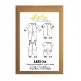 Sewing pattern Jumpsuit Lisboa - 6 month to 4 years old