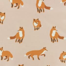 Tissu enduit coton Daily Like - Winter fox x 10cm