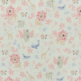 Tissu enduit coton Daily Like - Zoo x 10cm