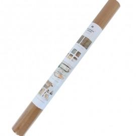 Rouleau papier cuir végétal - kraft (50 x 100 cm)