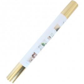 Rouleau papier cuir végétal - doré (50 x 100 cm)