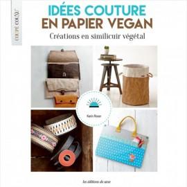 """Livre """"Idées Couture en Papier Vegan"""""""