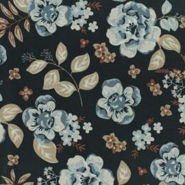 Tissu toile coton oxford Daily Like - Vintage flower x 10cm