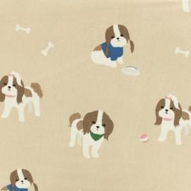 Tissu toile coton oxford Daily Like - Shih Tzu x 10cm