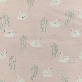 Tissu coton Daily Like - Swan Lake x 10cm