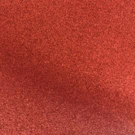 Tissu pailleté Fiesta (69cm) - rouge x 10cm