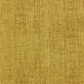 Tissu velours ras Barein - jaune ambre x 10cm