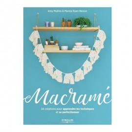 """Livre """"Macramé - 24 créations pour apprendre les techniques et se perfectionner"""""""