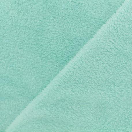 Plain Oeko-Tex baby's security blanket soft - mint milk x 10cm