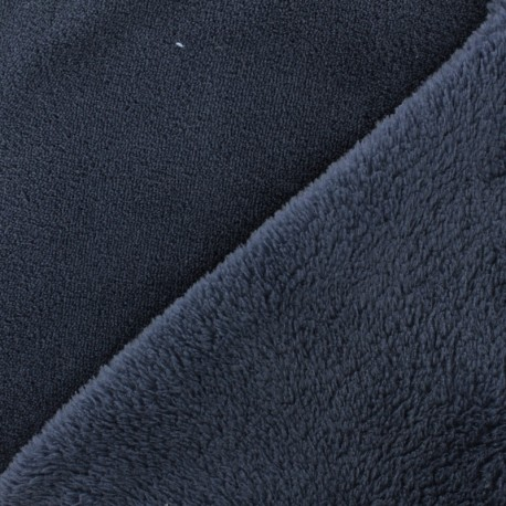 Plain Oeko-Tex baby's security blanket soft - storm x 10cm