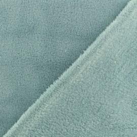 Plain baby's security blanket soft - celadon x 10cm