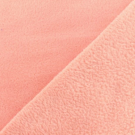 Plain Oeko-Tex baby's security blanket soft - capucine x 10cm