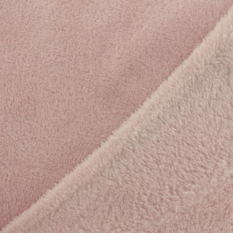 Plain Oeko-Tex baby's security blanket soft - pearl x 10cm