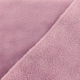 Plain Oeko-Tex baby's security blanket soft - lilac x 10cm