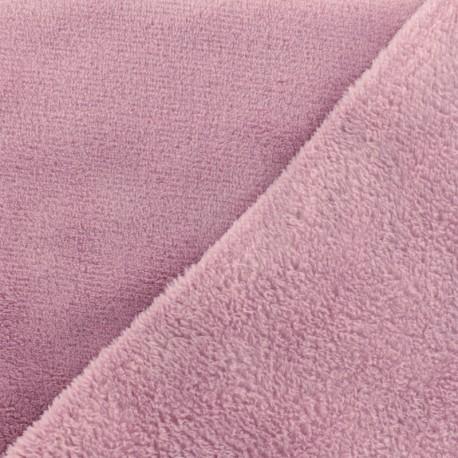 Plain Oeko-Tex baby's security blanket soft - lilac x 10cm