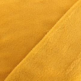 Tissu Oeko-Tex Doudou Uni - freesia x 10cm