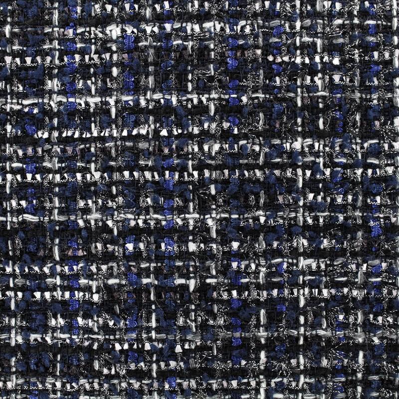 b2748522d4d Tweed fabric Gloria - multi black x 10cm