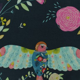 Dashwood cotton fabric Flock - Bird Panel x 60cm