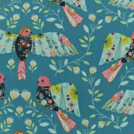 Tissu coton Dashwood Flock - birds x 10cm