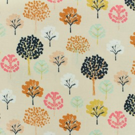 Tissu coton Dashwood Flock - trees x 10cm