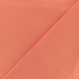 Tissu Oeko-Tex jersey uni violet x 10cm