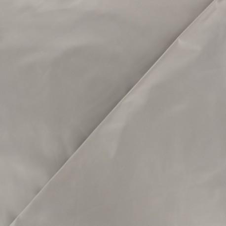 Glossy polyester fabric - dark grey x 10cm