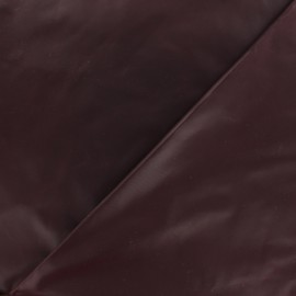 Glossy polyester fabric - wine dregs x 10cm