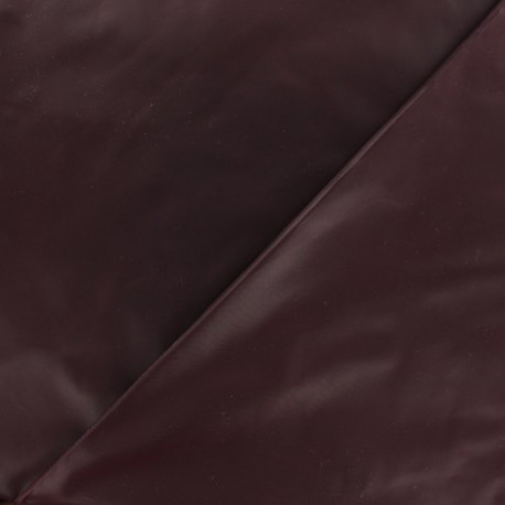 Glossy polyester fabric - black x 10cm