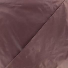 Glossy polyester fabric - plum x 10cm