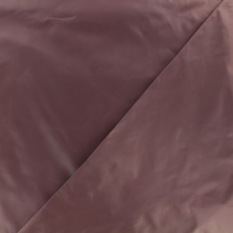 Glossy polyester fabric - champagne x 10cm