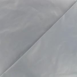 Tissu toile parachute Glossy - gris clair x 10cm