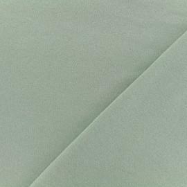 Tissu sweat léger Molletonné Pailleté - eau sauvage x 10cm