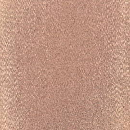 Iron-on Glitz Fabric - copper (12cm x 30cm)