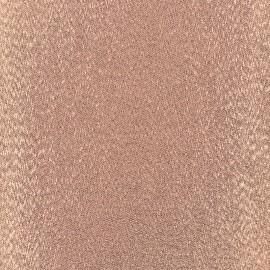 Tissu Thermocollant Glitz - cuivre (12cm x 30cm)