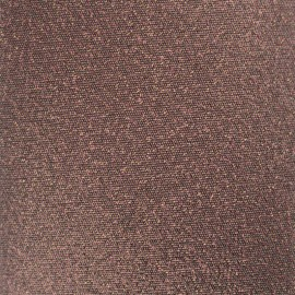 Iron-on Glitz Fabric - chocolate (12cm x 30cm)