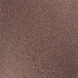 Iron-on Glitz Fabric - chocolate (12cm x 30cm)