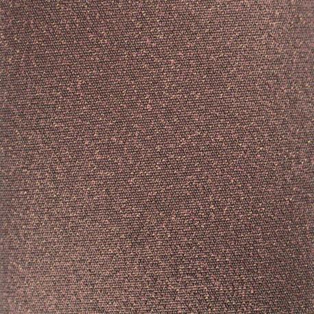 Tissu Thermocollant Glitz - chocolat (12cm x 30cm)