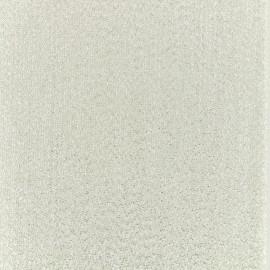 Tissu Thermocollant Glitz - argent (12cm x 30cm)