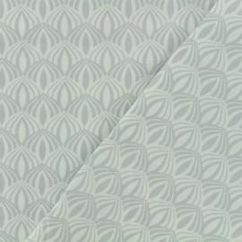 Tissu Oeko-Tex coton popeline Poppy - Kali - perle x 10cm