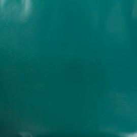 Oilcloth fabric - emerald x 10cm