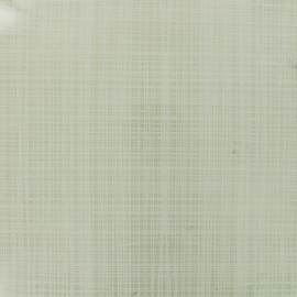 50 gauge clear vinyl fabric Stitch - white x 10cm