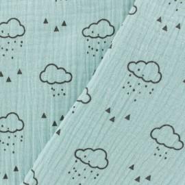 Double gauze fabric MPM Cloud - light mint x 10cm