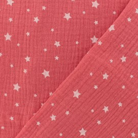 Double gauze fabric MPM Star - grenadine x 10cm