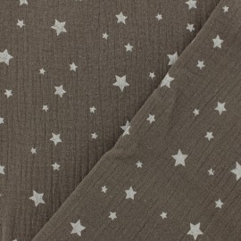 Double gauze fabric MPM Star - nut x 10cm