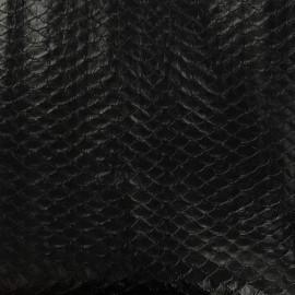 Simili cuir Dragon - noir x 10cm